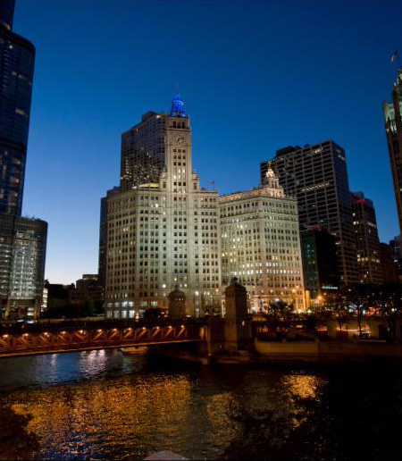 The Wrigley Building, Historical Building, TOBY Awards Winner