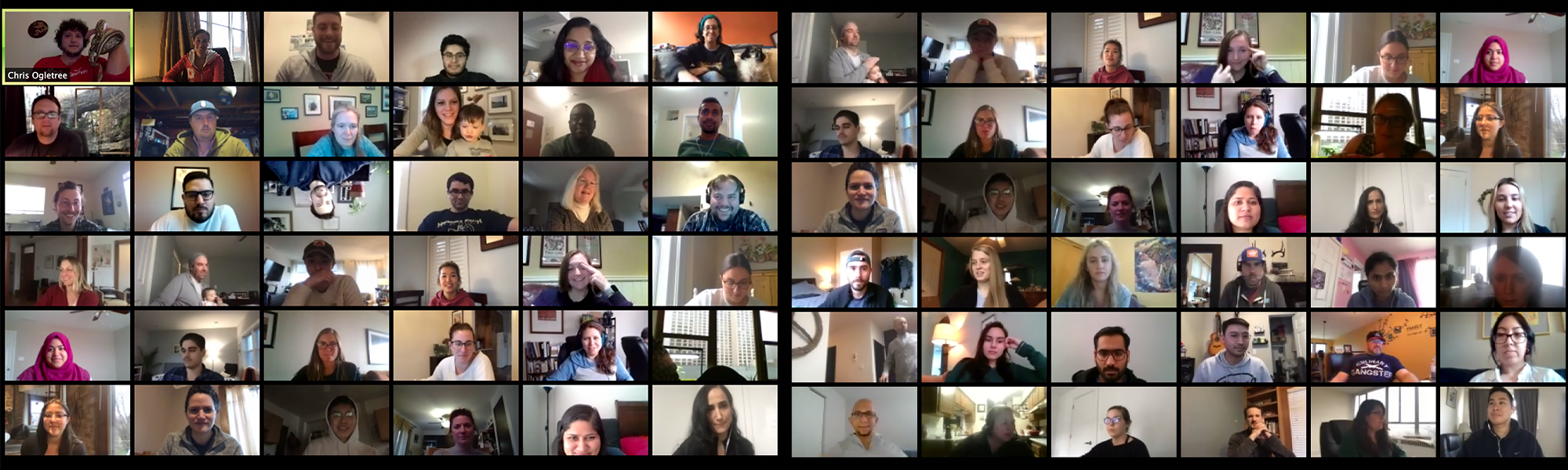 Full company remote meeting 2