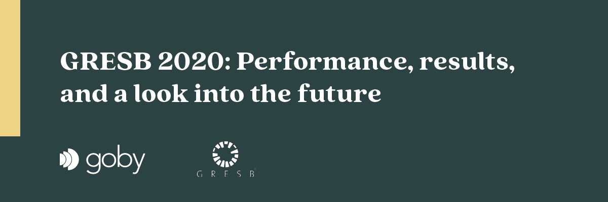 GRESB in 2020 - Performance, results, and a look into the future