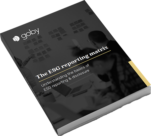 The ESG reporting matrix - Understanding the basics of ESG reporting & disclosure   Goby