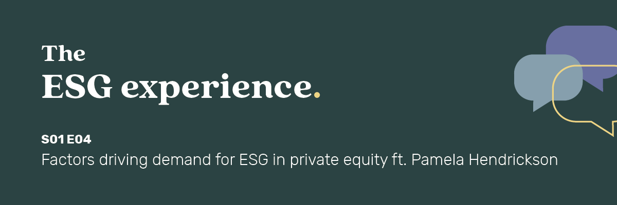 The ESG Experience podcast episode #04